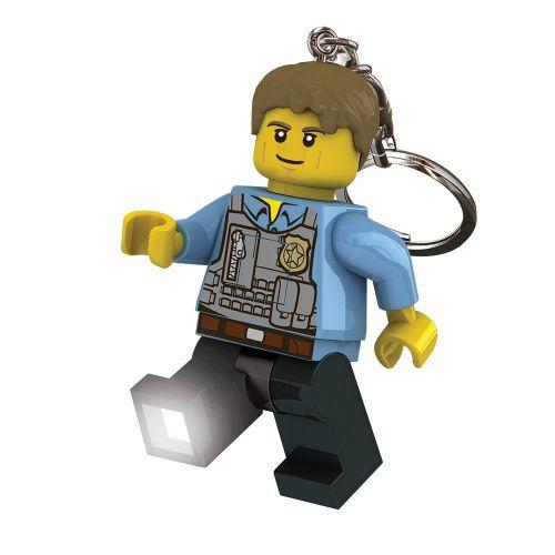 LEGO CITY klíčenka policista cena od 0 Kč