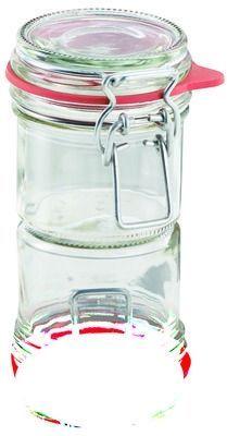 LEIFHEIT Zavařovací sklenice s klipem a těsnící gumou 135 ml cena od 89 Kč