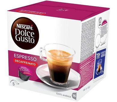 NESCAFÉ Espresso bez kofeinu 16 ks cena od 109 Kč