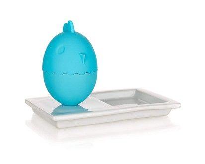 BANQUET COLOR PLUS BLUE kalíšek na vajíčka s talířkem cena od 129 Kč