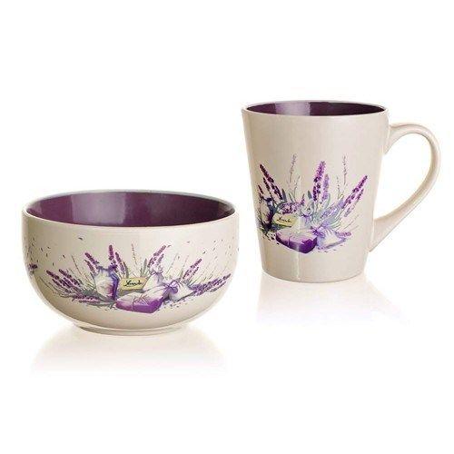 Banquet Lavender snídaňová sada 2 dílná cena od 179 Kč