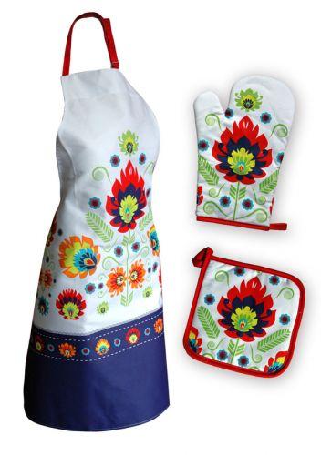 Faro Květy bavlna kuchyňský set cena od 0 Kč