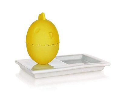 BANQUET Silikonový kalíšek na vajíčka s talířkem cena od 49 Kč