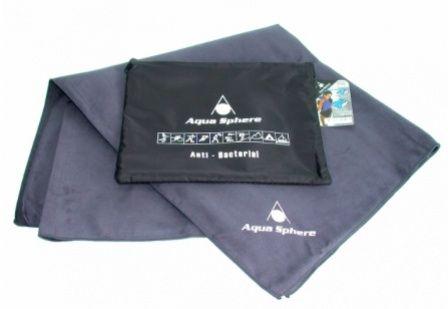 Aqua Sphere King Size Magic Towel šedý ručník