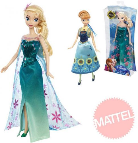 Mattel Disney Frozen panenka Elsa Anna 2 druhy cena od 0 Kč