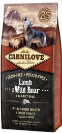 Carnilove Dog Lamb & Wild Boar for Adult NEW 1,5 Kg