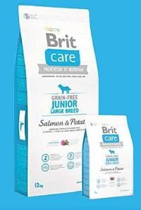 Brit Care Dog Grain-free Junior LB Salmon & Potato 1 Kg