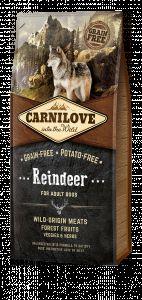 Carnilove Dog Reindeer for Adult NEW 12 kg