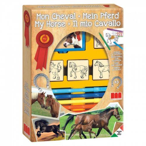 HM Studio: Razítka koně,box 4ks - HM Studio cena od 190 Kč
