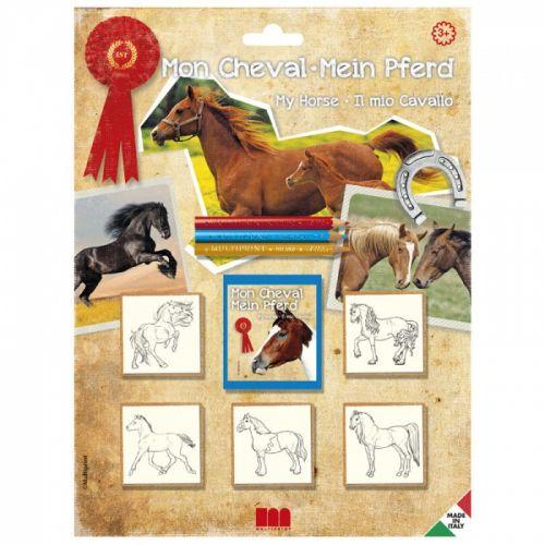 HM Studio: Razítka koně, blistr 5 ks - HM Studio cena od 103 Kč