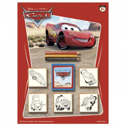 HM Studio: Razítka Cars, blistr 5 ks - HM Studio cena od 0 Kč