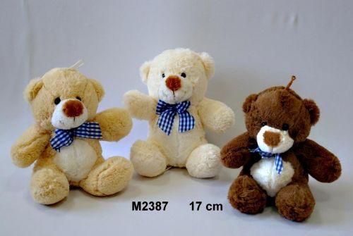 Vizopol Plyšový medvídek s poutkem 17 cm cena od 99 Kč