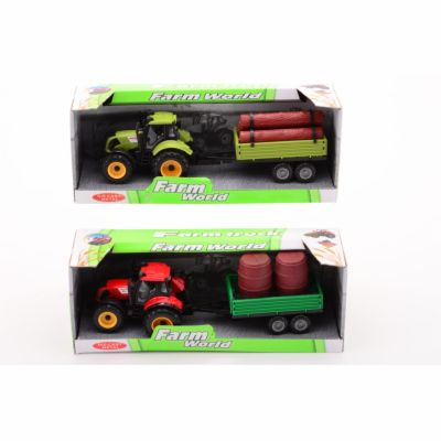 Johntoy Traktor + přívěs 4 druhy střední cena od 121 Kč