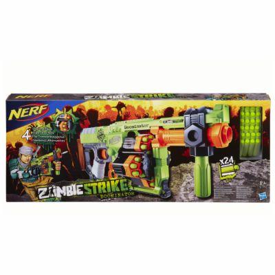 Hasbro Nerf NERF Zombie pumpovací se 4 bubny cena od 1600 Kč