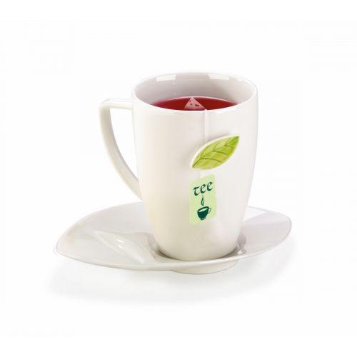 Tescoma Hrnek na čaj s podšálkem 400 ml cena od 249 Kč
