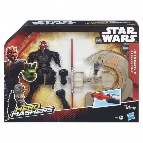 Hasbro Star Wars Star Wars Hero Mashers speeders cena od 389 Kč