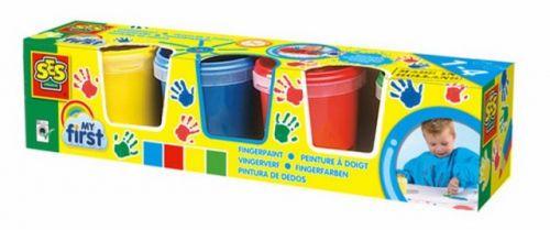SES Moje první prstové barvy 4x150 ml cena od 219 Kč