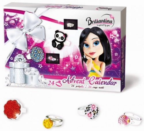 Bonaparte: Advetní kalendář Briliantina 2015 - prstýnky