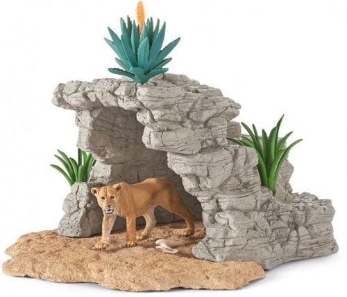 Schleich Jeskyně se lvicí cena od 386 Kč