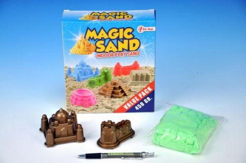 Teddies Magický písek 450 g + 2 formičky