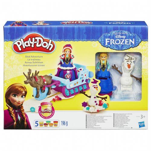 Hasbro Play-Doh Frozen dobrodružství na saních