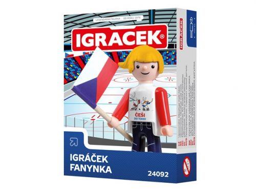 Efko IGRÁČEK FANYNKA I HOKEJ 2015 cena od 62 Kč
