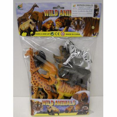 Alltoys Divoká zvířata 6 ks cena od 149 Kč