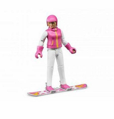 Bruder BWORLD 60420 Snowboardistka cena od 168 Kč
