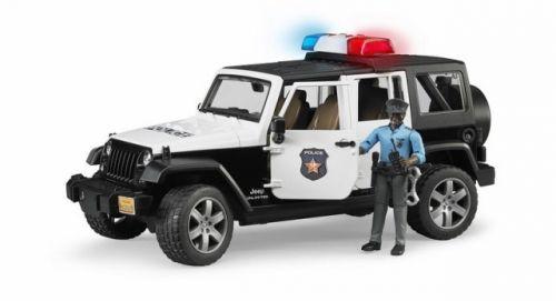 Bruder 2527 JEEP WRANGLER Rubicon Policie s figurkou cena od 729 Kč