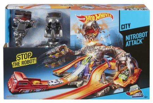 Mattel Hot Wheels dráha Carzilla útočí cena od 939 Kč