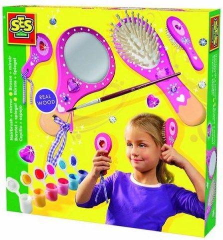 SES Kartáč na vlasy a zrcadlo cena od 166 Kč