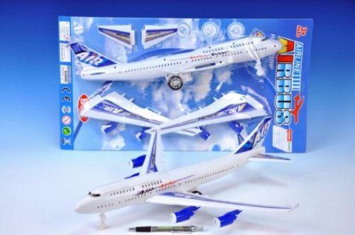 Teddies Letadlo plast 46 cm cena od 120 Kč