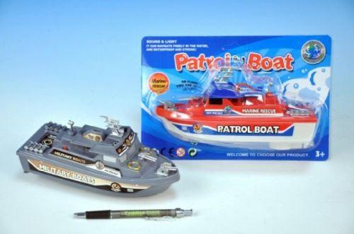 Wiky Loď člun plast 21 cm