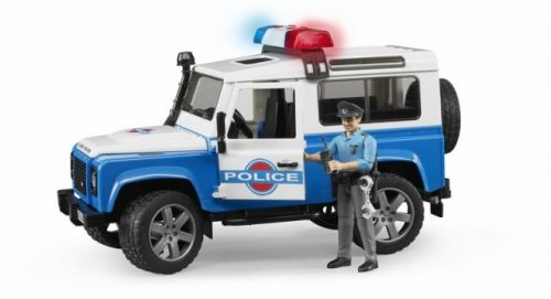 BRUDER LAND ROVER Policie cena od 734 Kč