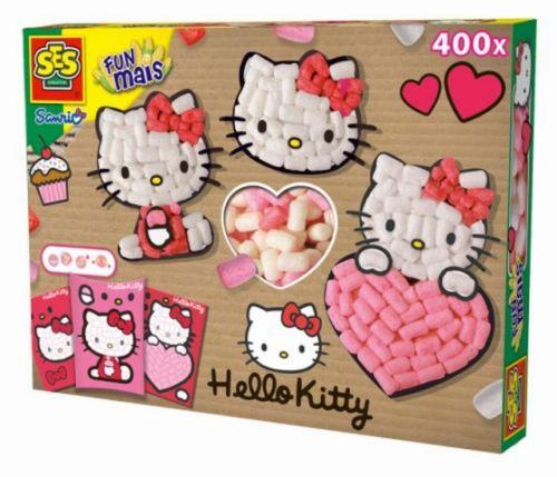SES Modelovací hmota z kukuřice Hello Kitty cena od 343 Kč