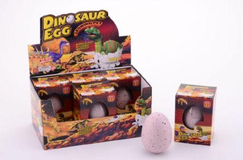 Johntoys Mega dinosaurus rostoucí z vajíčka