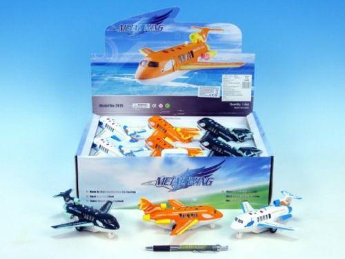 Mikro Trading Letadlo kov 15 cm cena od 140 Kč