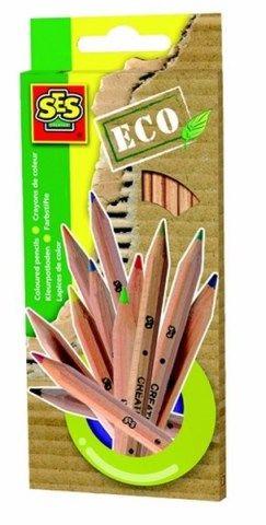 SES ECO pastelky 12 barev cena od 137 Kč