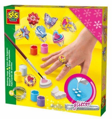 SES Odlévání a malování prstýnků cena od 310 Kč