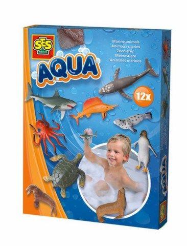 SES Pohyblivá hračka do vany-mořská zvířata cena od 0 Kč