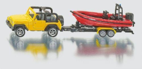 SIKU Blister Jeep se člunem cena od 151 Kč