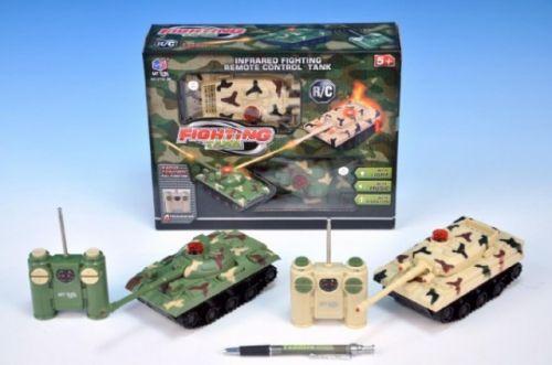 Teddies RC Tank 14x7x7 cm cena od 549 Kč