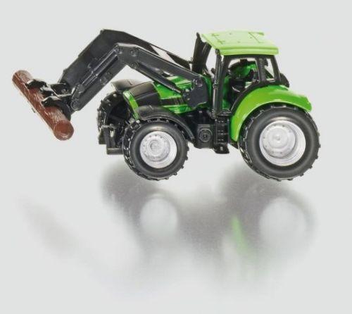 SIKU Blister Traktor s kleštěmi na dříví