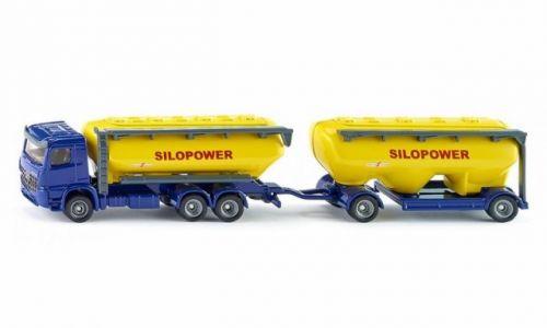 SIKU Farmer kamion s přívěsem pro krmivo cena od 389 Kč
