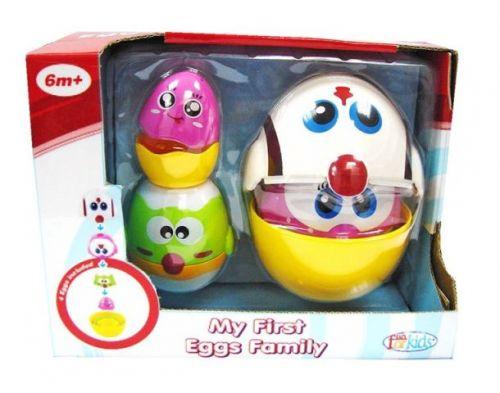 Mac Toys Stohovatelná kuřátka/vajíčka cena od 0 Kč