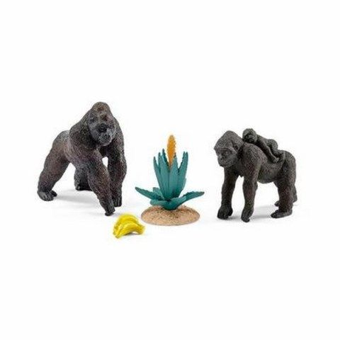 Schleich Svět přírody gorilí rodinka s mládětem set cena od 327 Kč