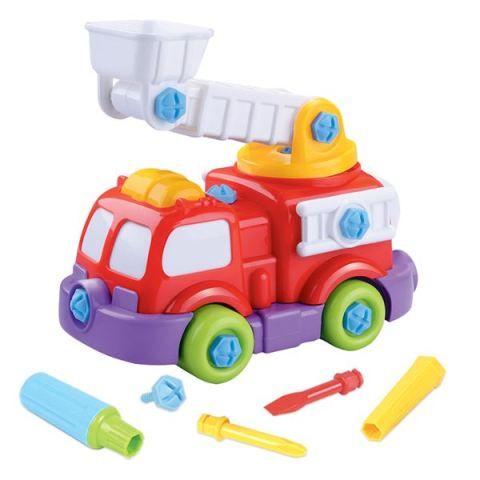 Mac Toys Stavebnice požární auto cena od 144 Kč