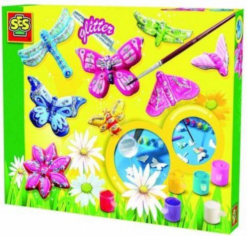 SES Výroba broží motýli