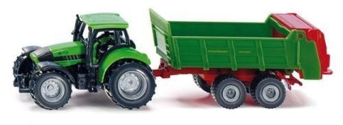 SIKU Blister Traktor s univerzální vlečkou cena od 150 Kč