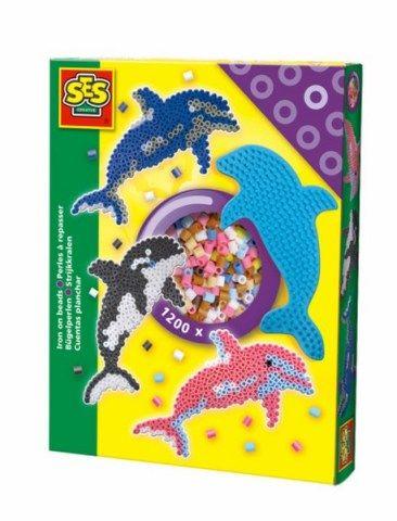SES Zažehlovací korálky delfín cena od 148 Kč